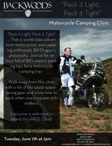 Motorcycle Camping with Bill Dragoo