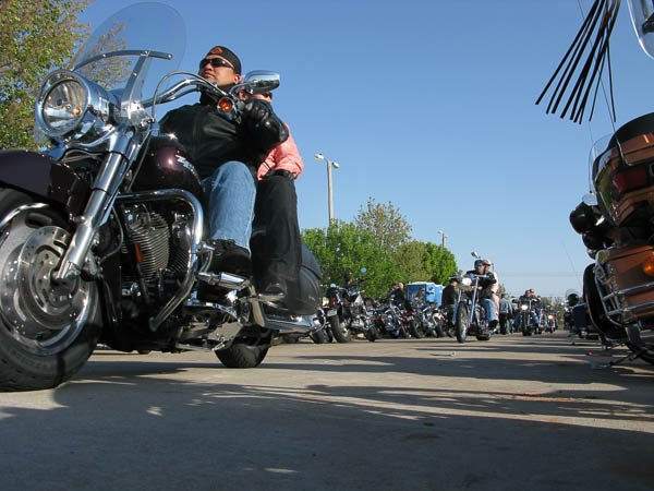 Thunder Run motorcycle rally in Oklahoma City