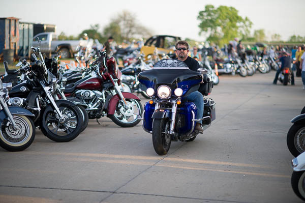 Saturday at Thunder Run motorcycle rally