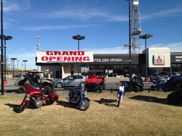 Norman Yamaha is located at the old Cadillac building on 2505 W. Main Street. Photo courtesy of Bill Dragoo.