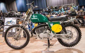 Penton and Bultaco at OKC Motorcycle Show