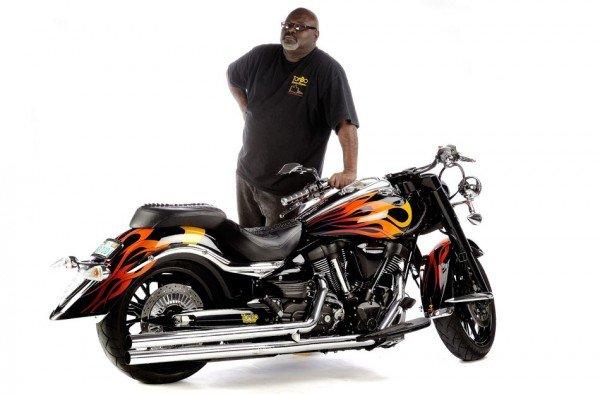 Tommy Bolton with a custom built Yamaha