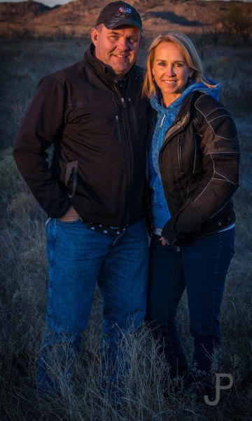 May wife Kay and I attended Chris and Claire Johnson's observed trials school west of Lawton.