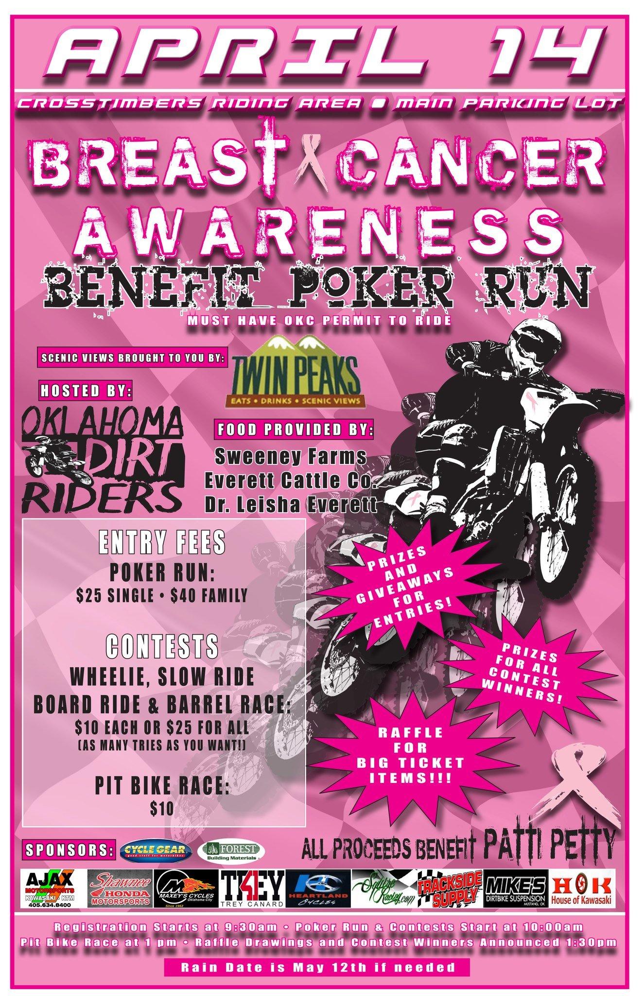 Radio Flyer Bike >> A Poker Run - In the DIRT! - Ride Oklahoma