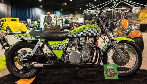 Rebuilt KZ-900 at the OKC Motorcycle Show