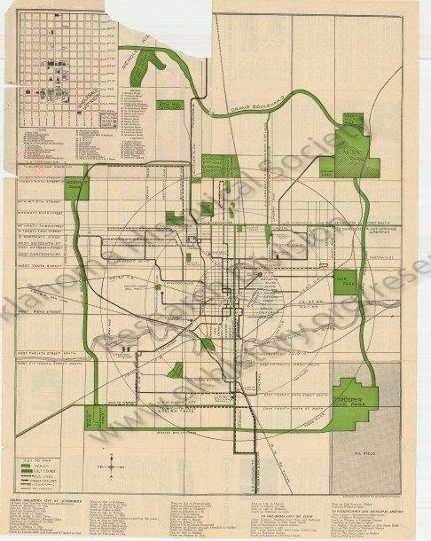 Grand Boulevard Map 1