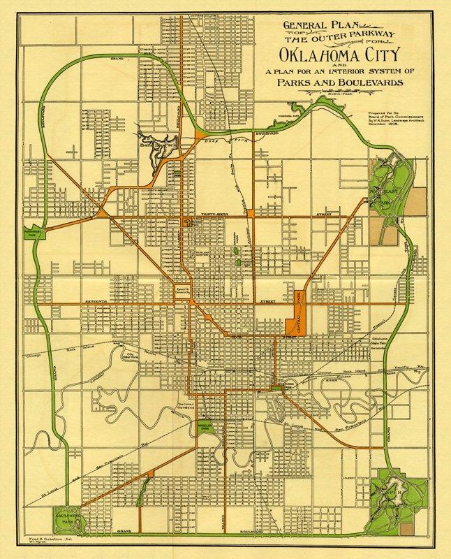 OKC Grand Boulevard Loop Ride Oklahoma