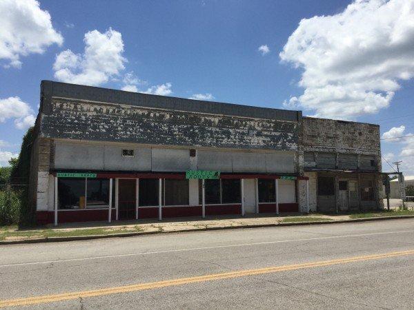 Downtown Earlsboro circa 2015